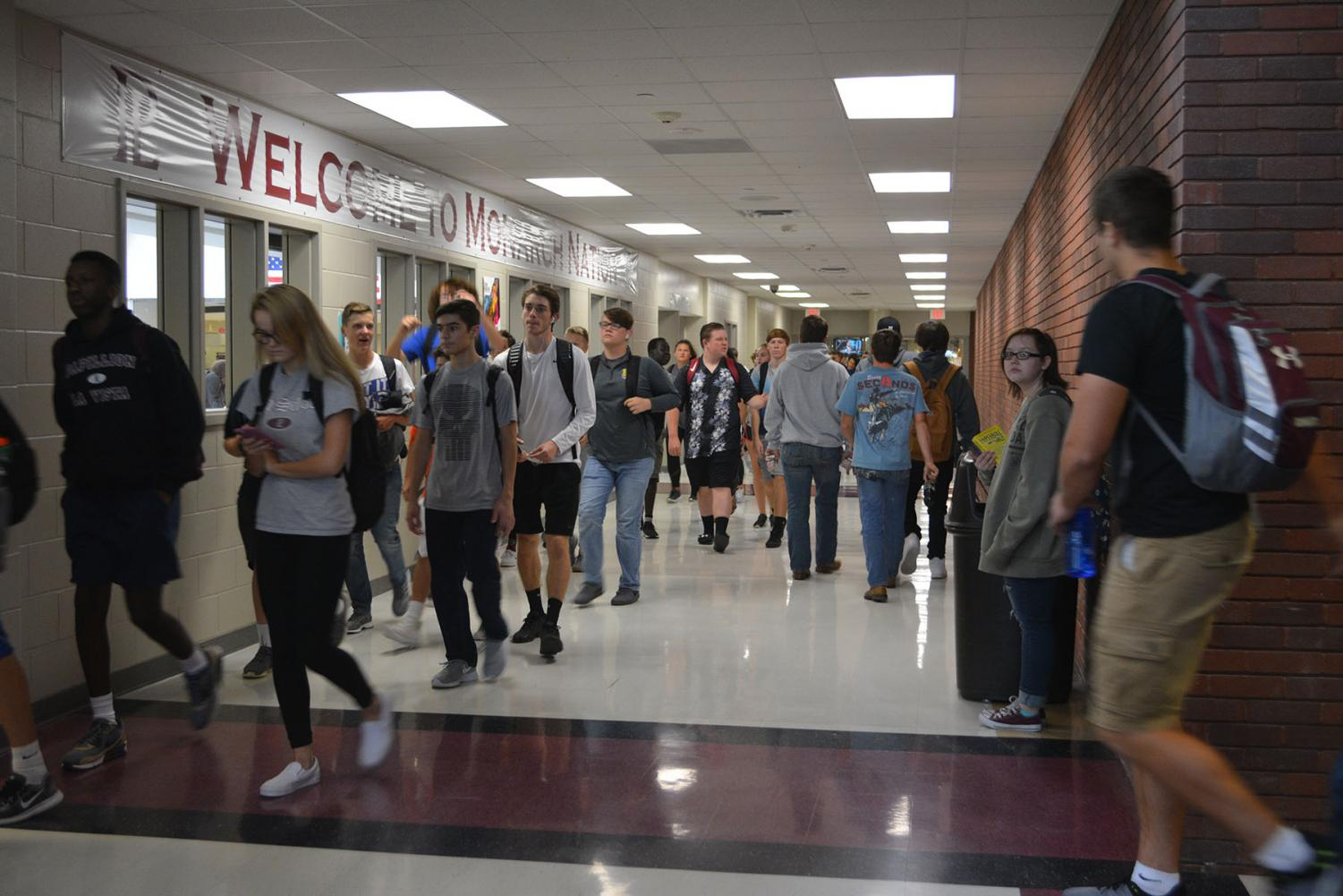 Students leave school because of early release