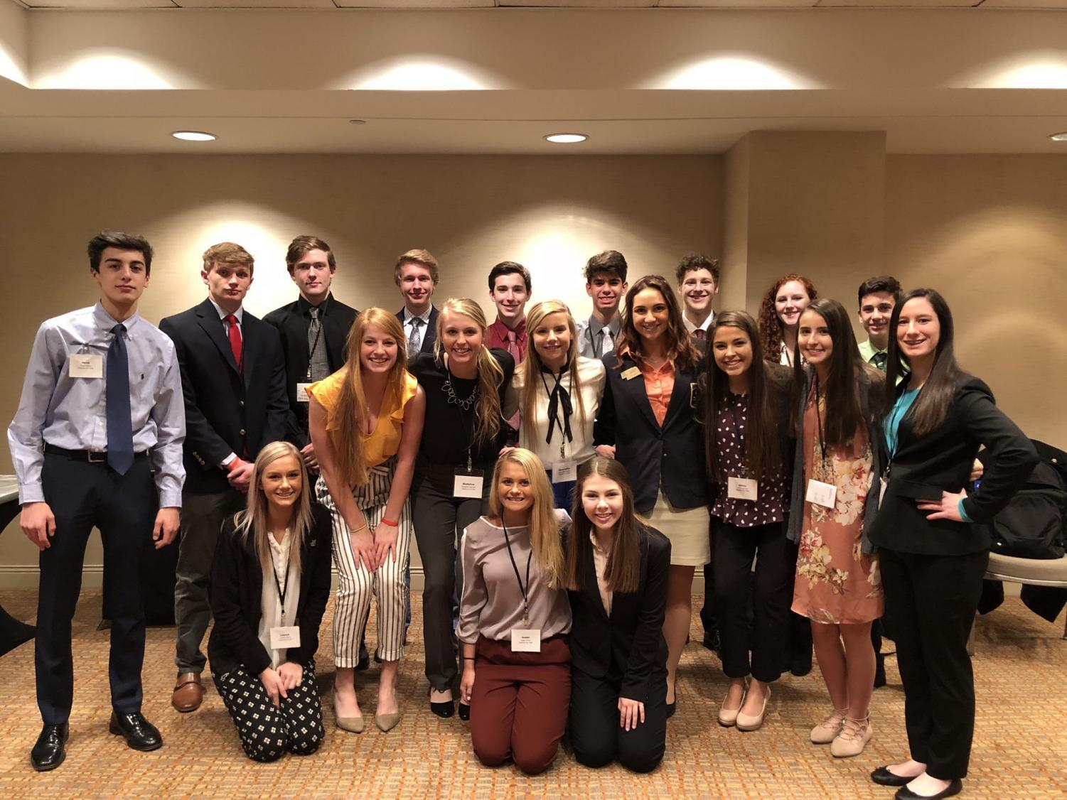 DECA's 2018 annual State Development Conference, in Lincoln, NE.