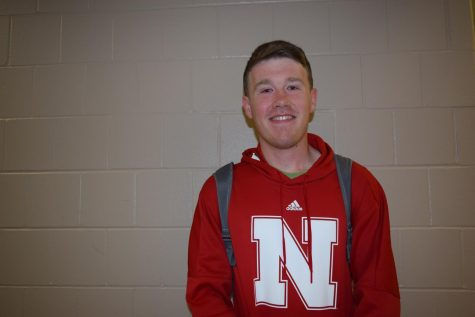 Senior Jace Armstrong looks forward to a promising education at UNL.