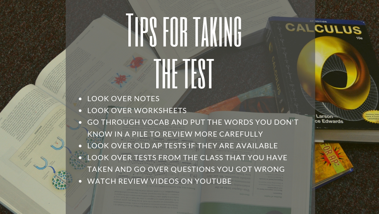 Quick tips for how to prepare for AP tests