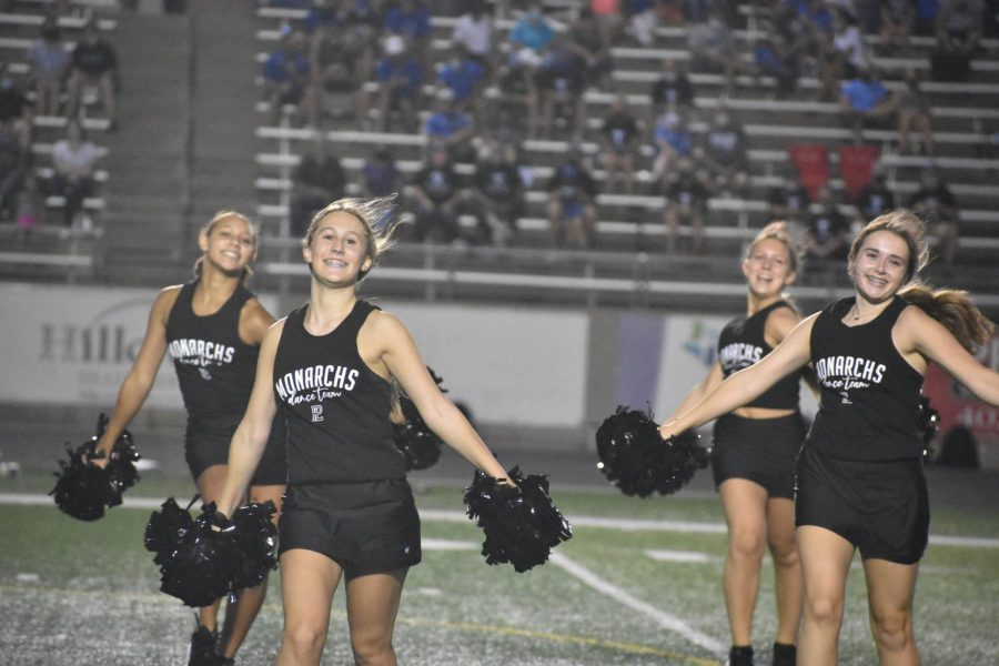 Dance team finds a way to have their season