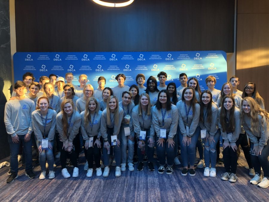 DECA members attend the 2019 Central Regional Leadership Conference.