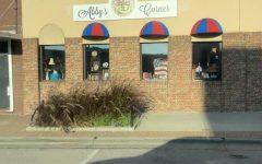 Outside view of Abbys Corner on 138 N Washington St