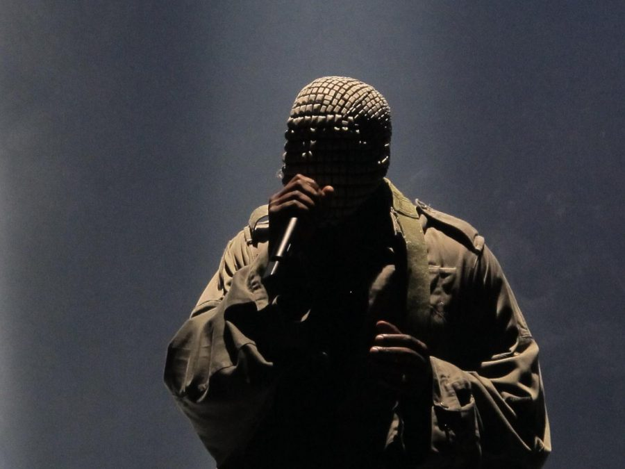 Kanye West performs at a concert back in 2013. Kanye is one of the most decorated artists in music history with a total of 22 Grammy wins.